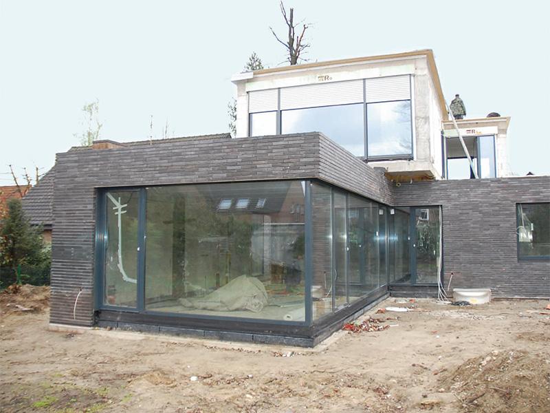 Einfamilienhaus neubau satteldach klinker  Neubau eines Einfamilienhauses - Johann Vögeler GmbH & Co. KG ...